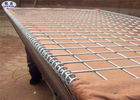 Wire Mesh Hesco Bastion Barrier System Green Geotextile For Force Protection