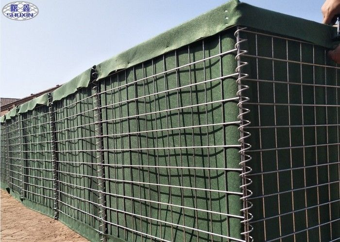 Galvanized Mesh Hesco Bastion Specification Defense Barriers Wall